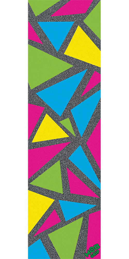 Mob Shindig Graphic 9in x 33in - Multi - Skateboard Griptape (1 Sheet)