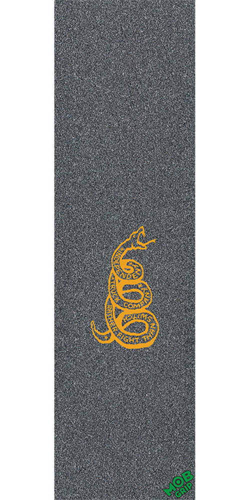 Mob Independent Strike Graphic 9in x 33in - Black - Skateboard Griptape (1 Sheet)