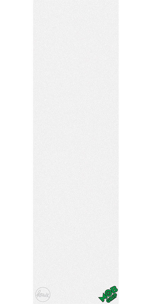 Mob Krux 9in x 33in - White - Skateboard Griptape (1 Sheet)