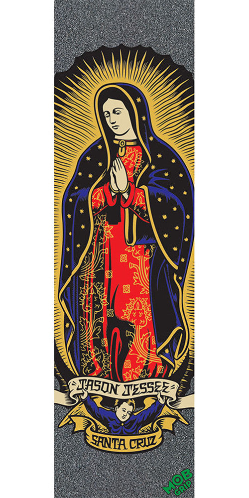 Mob Santa Cruz Guadalupe Graphic 9in x 33in - Multi - Skateboard Griptape (1 Sheet)