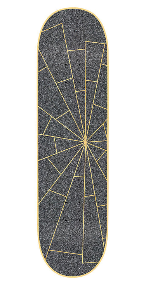 Mob Laser Cut Shattered 9in x 33in - Black - Skateboard Griptape (1 Sheet)