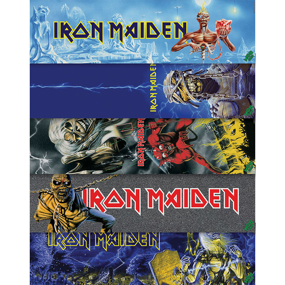 Mob Iron Maiden Vol2 - 9in x 33in - Assorted - Skateboard Griptape (1 Sheet)