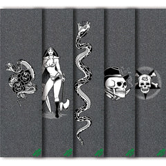 Mob Mike Giant - 9in x 33in - Assorted - Skateboard Griptape (1 Sheet)