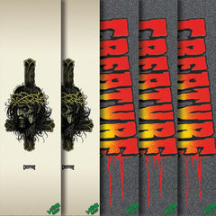 Mob Creature Fall 17 - 9in x 33in - Assorted - Skateboard Griptape (1 Sheet)