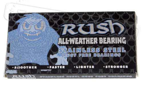Rush All Weather - Skateboard Bearings (8 PC)