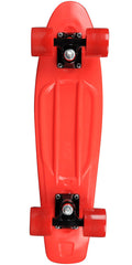 Rock On Mini Cruzer - Red w/ Red Wheels - Complete Skateboard