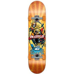 World Industries Yee Haw - Orange - 7.5 - Complete Skateboard