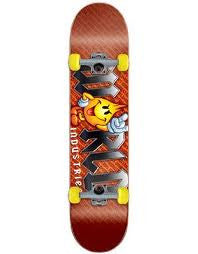 World Industries Flameboy Metal Logo - Red - 7.37 - Complete Skateboard