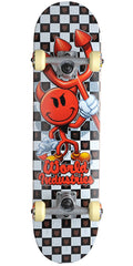 World Industries Checker Devilman Mini - Multi - 7.12 - Complete Skateboard