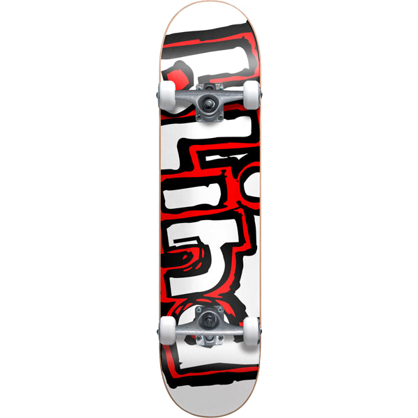 Blind Matte OG Logo - White/Red - 7.7 - Complete Skateboard
