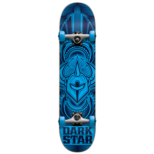 Darkstar Scour FP - Blue - 7.0in x 27.5in - Youth Complete Skateboard