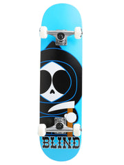 Blind Classic Kenny Mini - Bright Blue - 6.75in x 27.5in - Complete Skateboard