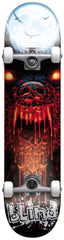 Blind Bad Wolf - White/Black/Red - 7.6in x 31in - Complete Skateboard