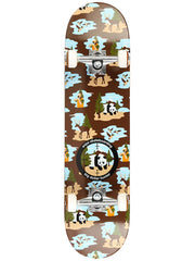 Enjoi Big Dollar Hunter V2 - Brown - 7.75 - Complete Skateboard