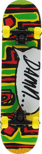 Blind Rasta OG Damn Bubble - Rasta - 7.0in - Complete Skateboard