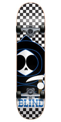 Blind Checkerboard Kenny Youth - Black/White - 7.3 - Complete Skateboard