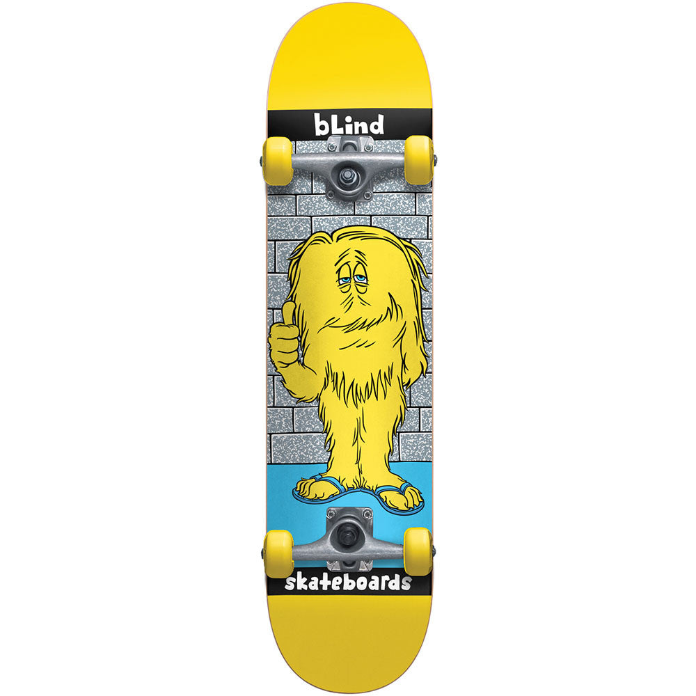 Blind Looney Monster Youth - Yellow - 7.0 - Complete Skateboard