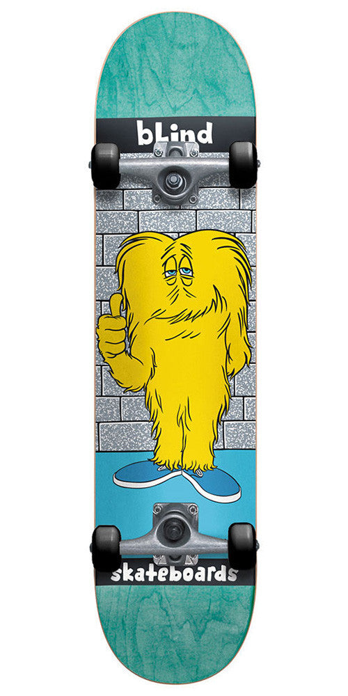 Blind Looney Monster - Aqua/Blue - 7.5 - Complete Skateboard