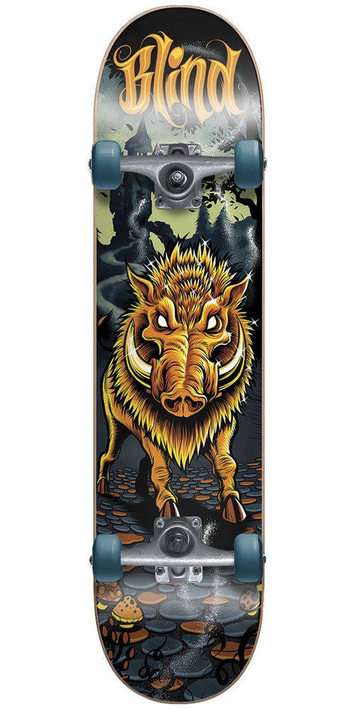 Blind Golden Boar - Blue/Orange - 8.0in - Complete Skateboard
