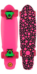 Element Lightning Bug Cruiser - Pink/Pink - 6.125in x 23.125in - Complete Skateboard