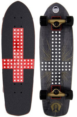 Alien Workshop Holy Roller - Black/Red - 8.5 - Complete Skateboard