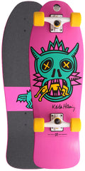 Alien Workshop Haring Fishtail Cruiser - Pink - 10in x 30in - Complete Skateboard