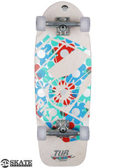Alien Workshop Tub Cruiser - White- 10in x 30in - Complete Skateboard