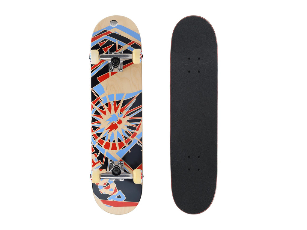 Alien Workshop OG Shift - Natural/Blue/Red - 7.875in 31.8in - Complete Skateboard
