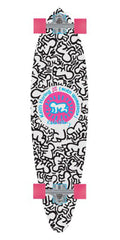 Alien Workshop Haring Baby Repeat - 9.75in x 37.9375in - White - Complete Skateboard