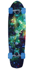 Alien Workshop Deep Space Cruiser - Multi - 7.75in x 30.0in - Complete Skateboard