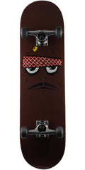 Toy Machine Poo Poo Face - Brown - 8.375in x 31.75in - Complete Skateboard