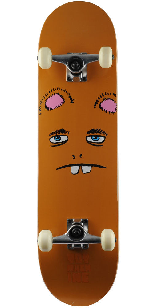 Toy Machine Betard Face - Brown - 8.25in x 31.75in - Complete Skateboard