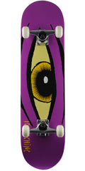 Toy Machine Sect Eye - Purple - 8.375in x 31.875in - Complete Skateboard