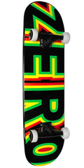 Zero Sandoval Bold - Red/Yellow/Green - 7.75in - Complete Skateboard