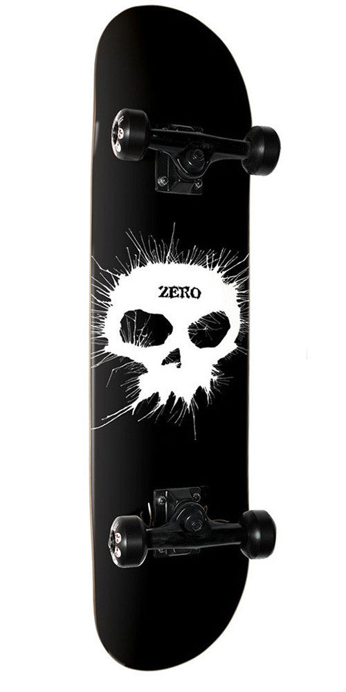 Zero Thomas Single Skull - Black - 7.75in - Complete Skateboard