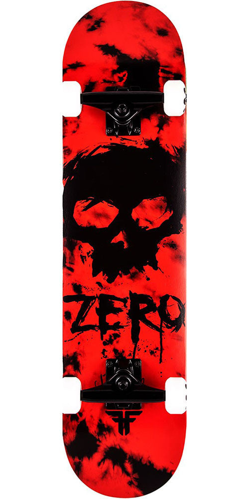 Zero Jamie Thomas Fallen Blood Skull - Red/Black - 7.75in - Complete Skateboard