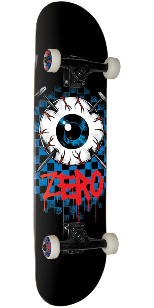 Zero Eyeball - Black - 8.0in - Complete Skateboard
