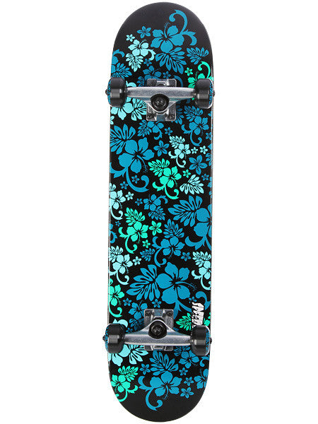 Speed Demons Hawaiian Dream PP - Blue/Green - 7.5 - Complete Skateboard