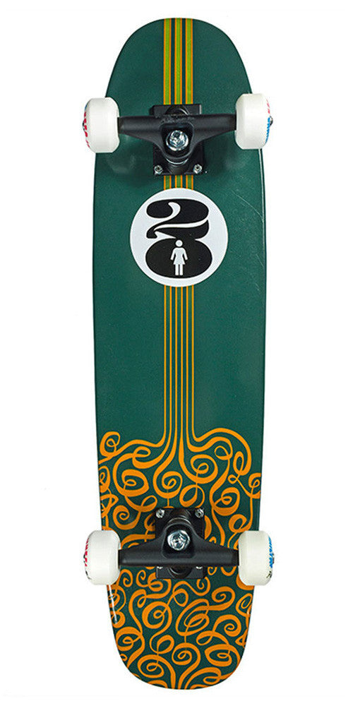 Girl 20th Anniversary Cruiser Small - Assorted - 7.4in x 29.3in - Complete Skateboard