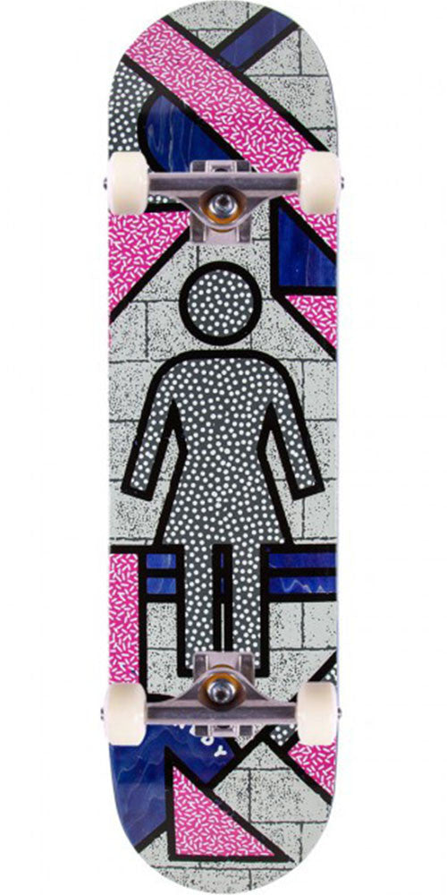 Girl Kennedy Framework - Multi - 8.0in x 31.5in - Complete Skateboard