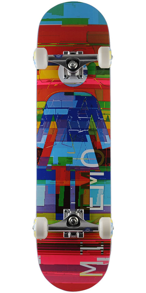 Girl Mike Mo Glitch Mode - Multi - 7.75in x 31.125in - Complete Skateboard