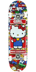 Girl Mike Carroll Hella Kitty - Multi - 7.75in x 31.62in - Complete Skateboard