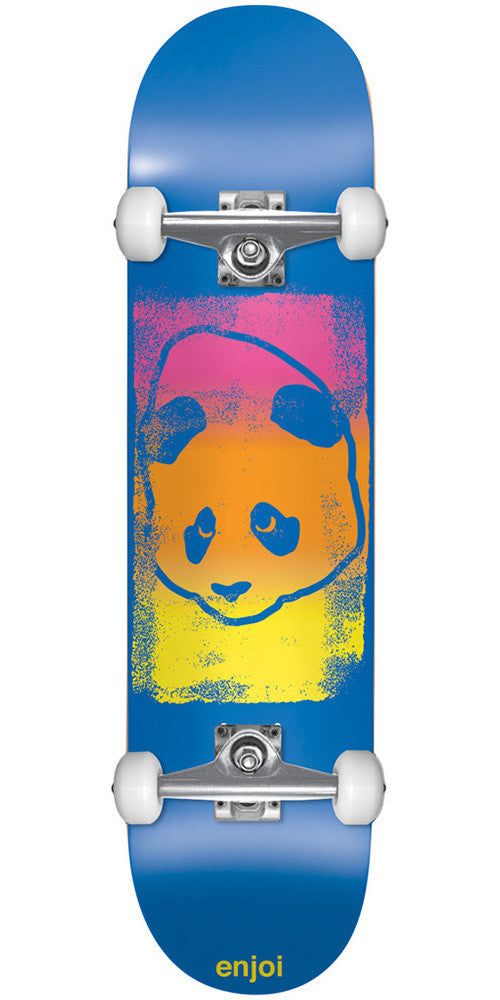 Enjoi Printhead - Blue - 7.6in - Complete Skateboard