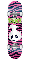 Enjoi Punk Doesn't Fit - Pink - 7.75in - Complete Skateboard