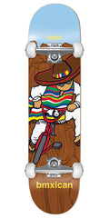 Enjoi Jose Rojo BMXican - Brown - 7.75in - Complete Skateboard