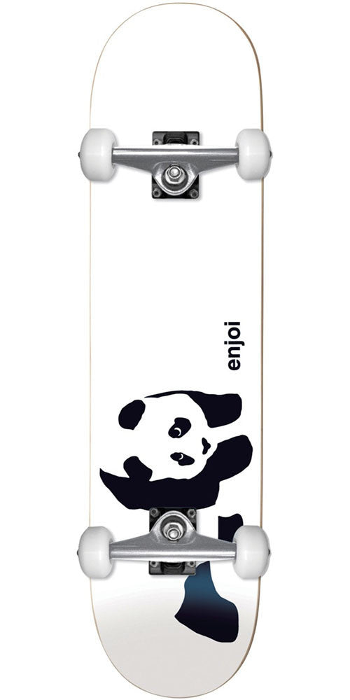 Enjoi Panda Soft Top Youth - Whitey - 6.75in - Complete Skateboard