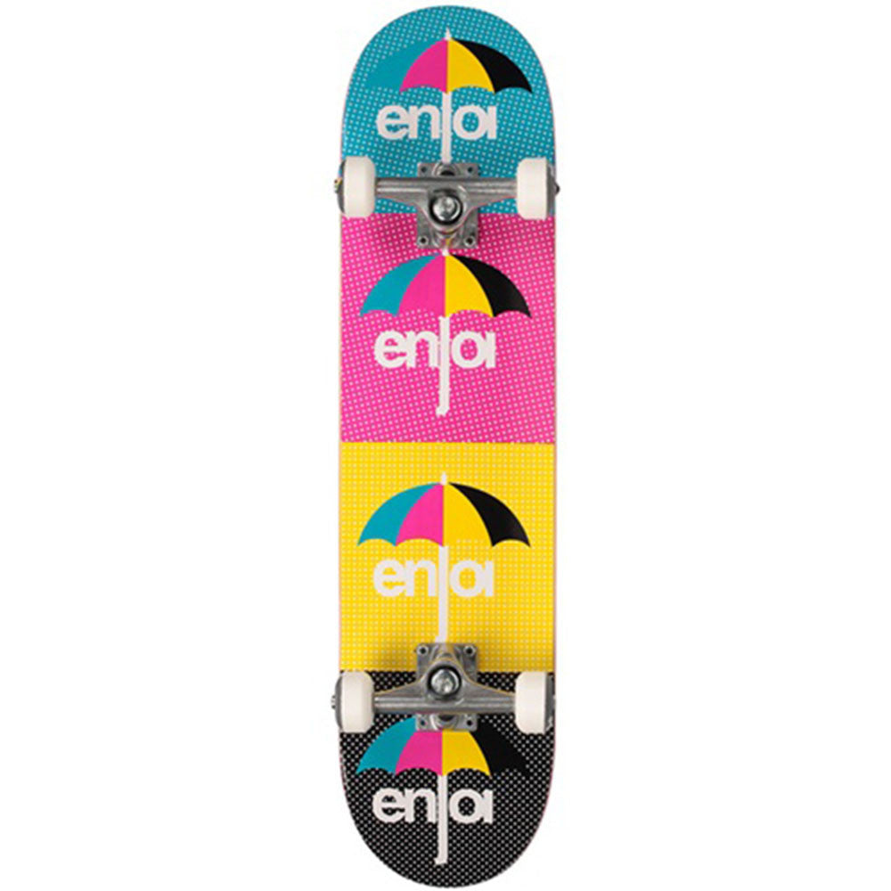 Enjoi CMYK - Multi - 7.6in - Complete Skateboard