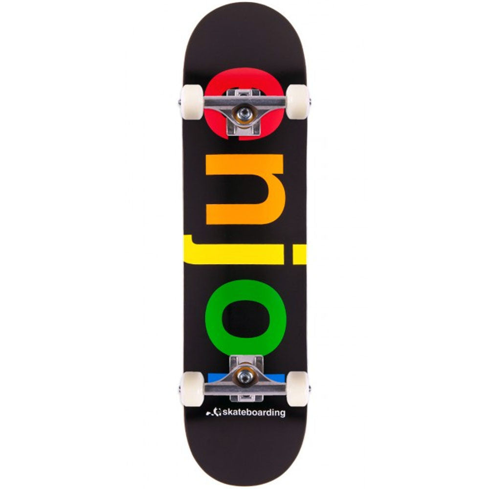 Enjoi Spectrum - Black - 7.75in - Complete Skateboard