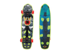 Habitat Beetle - Grey/Green - 8.0in x 30.5in - Complete Skateboard