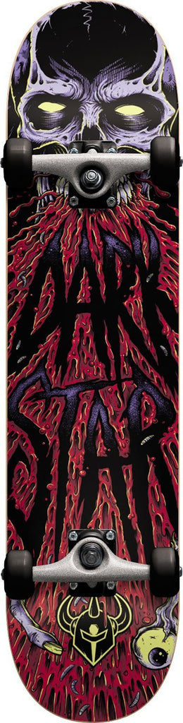 Darkstar Zombie - Red - 8.0 - Complete Skateboard